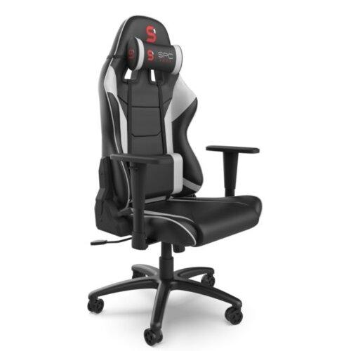 Fotel SPC GEAR SR300 V2 Czarno-biały