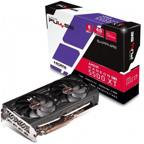 Karta graficzna SAPPHIRE Radeon RX 5500 XT Pulse 8GB