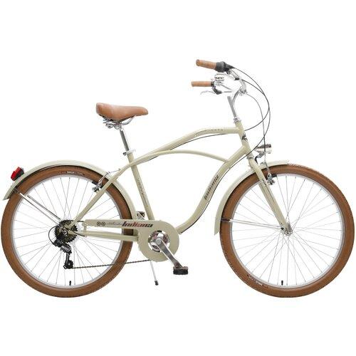 Rower miejski INDIANA Moody 6B26 cali męski Szary