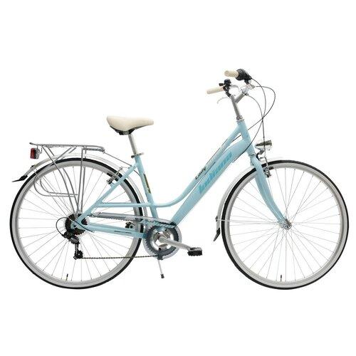 Rower miejski INDIANA Nuvola 7B28 cali damski Niebieski