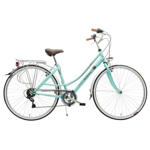Rower miejski INDIANA Perla 7B28 cali damski Zielony