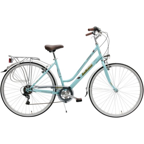 Rower miejski INDIANA Village 6B 28 cali damski Niebieski