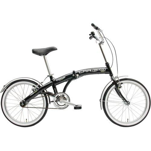 Rower miejski CINZIA Car Bike 1B 20 cali męski Czarny