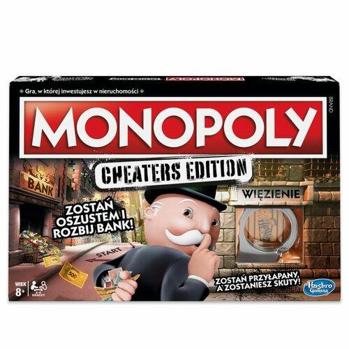 Gra planszowa HASBRO Monopoly Cheaters Edition