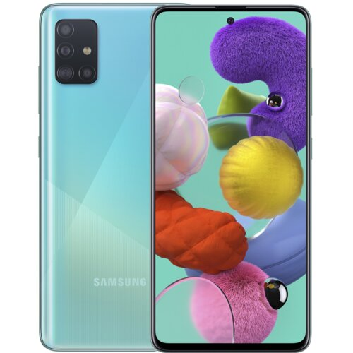 """Smartfon SAMSUNG Galaxy A51 4/128GB 6.5"""" Niebieski SM-A515"""