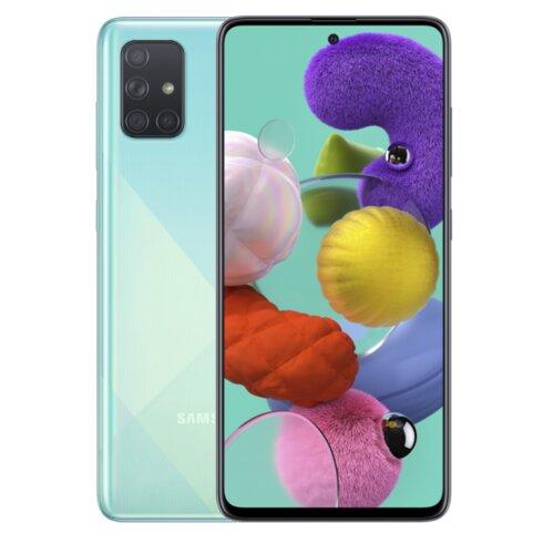 """Smartfon SAMSUNG Galaxy A71 6/128GB 6.7"""" Niebieski SM-A715"""