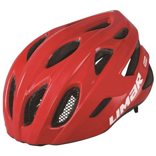 Kask rowerowy LIMAR 555 Czerwony Szosowy (rozmiar M)