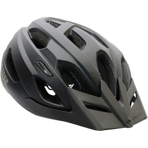 Kask rowerowy LIMAR Berg-Em Czarny (rozmiar M)