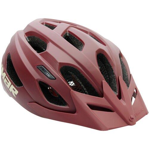 Kask rowerowy LIMAR Berg-Em Czerwony (rozmiar M)