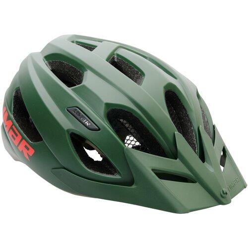 Kask rowerowy LIMAR Berg-Em Zielony (rozmiar L)