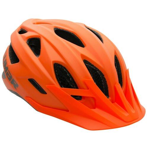 Kask rowerowy LIMAR 545 Pomarańczowy MTB (rozmiar M)
