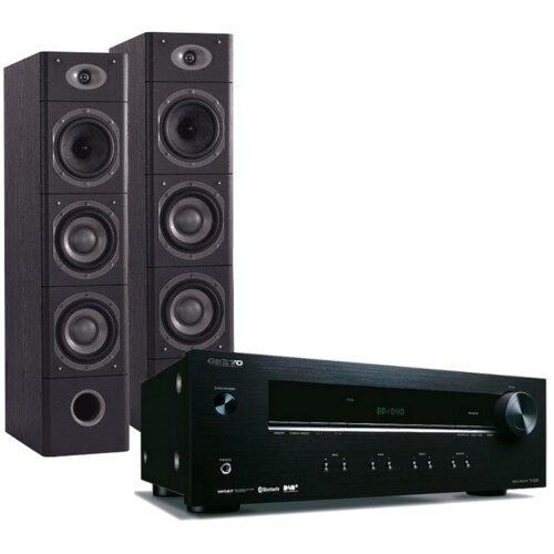 Zestaw stereo ONKYO TX-8220 Czarny + M-AUDIO HTS900 Czarny