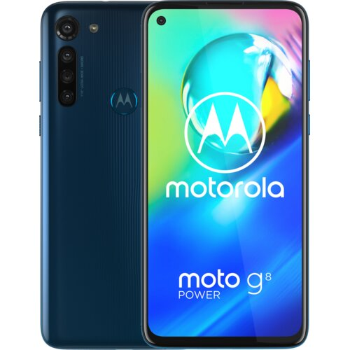 "Smartfon MOTOROLA G8 Power 4/64GB 6.4"" Niebieski PAHF0005PL"