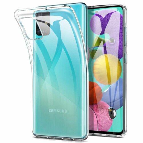 Etui TECH-PROTECT FlexAir do Samsung Galaxy A51 Przezroczysty