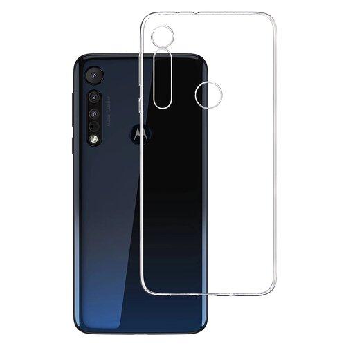 Etui 3MK Clear Case do Motorola One Macro Przezroczysty