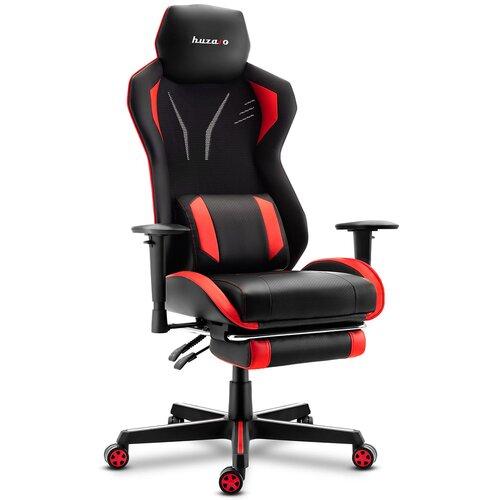 Fotel HUZARO Combat 6.0 Czarno-czerwony