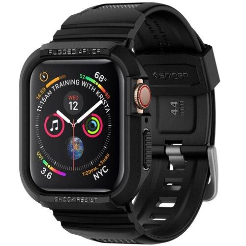Etui SPIGEN Rugged Armor Pro do Apple Watch (44 mm) Czarny