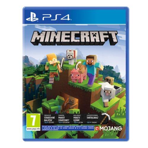 Minecraft Bedrock Gra PS4 (Kompatybilna z PS5)