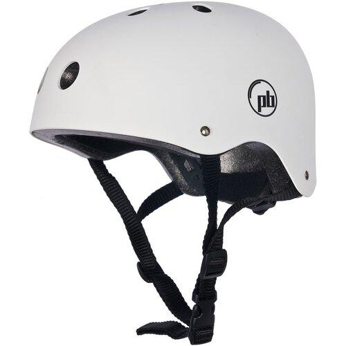 Kask rowerowy PB Katana Biało-czarny (rozmiar M)