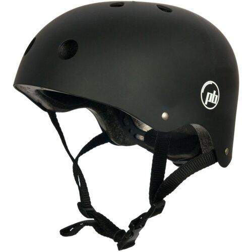 Kask rowerowy PB Katana Czarny (rozmiar M)