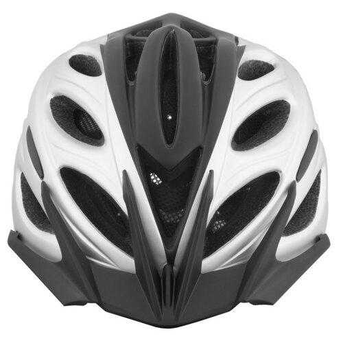 Kask rowerowy VÖGEL VKA-925SV Czarno-srebrny Miejski (rozmiar S/M)