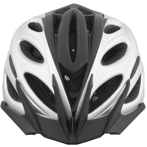 Kask rowerowy VÖGEL VKA-925SV Czarno-srebrny Miejski (rozmiar M/L)