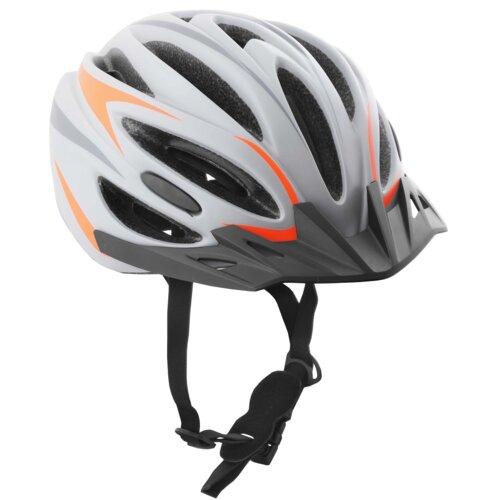 Kask rowerowy VÖGEL VKA-926GO Szaro-pomarańczowy MTB (rozmiar M/L)