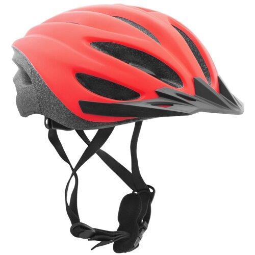 Kask rowerowy VÖGEL VKA-921R Czerwono-czarny MTB (rozmiar L)
