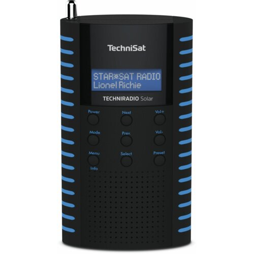 Radio TECHNISAT TECHNIRADIO Solar Czarno-niebieski