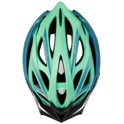 Kask rowerowy SPOKEY Femme Zielono-niebieski MTB (rozmiar 58-61)