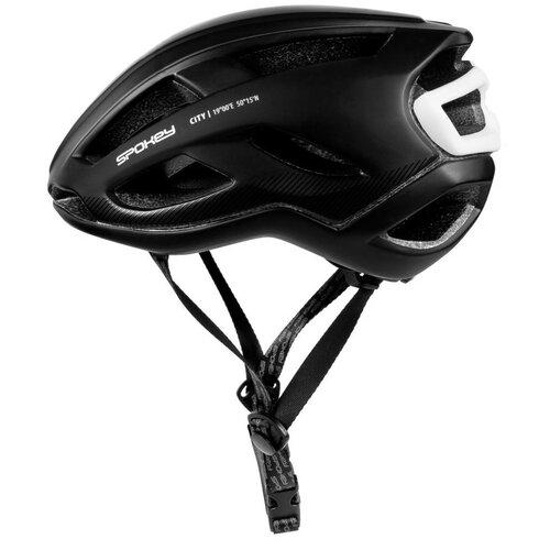 Kask rowerowy SPOKEY City Czarny (rozmiar 55-58)