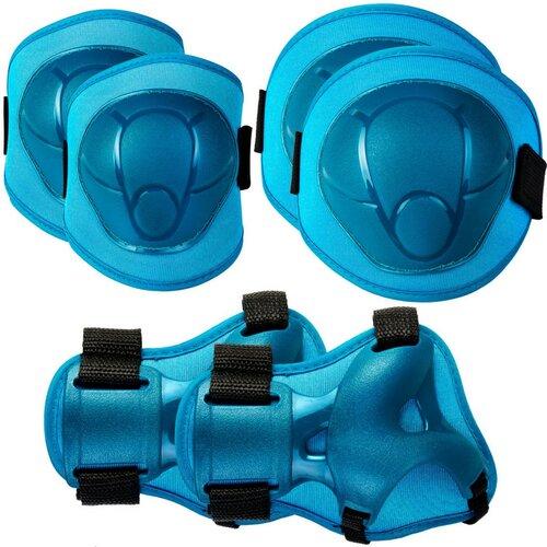 Ochraniacze SPOKEY Buffer Niebieski dla dzieci (rozmiar XS)