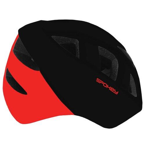 Kask rowerowy SPOKEY Cherub Czerwono-czarny (rozmiar 44-48)
