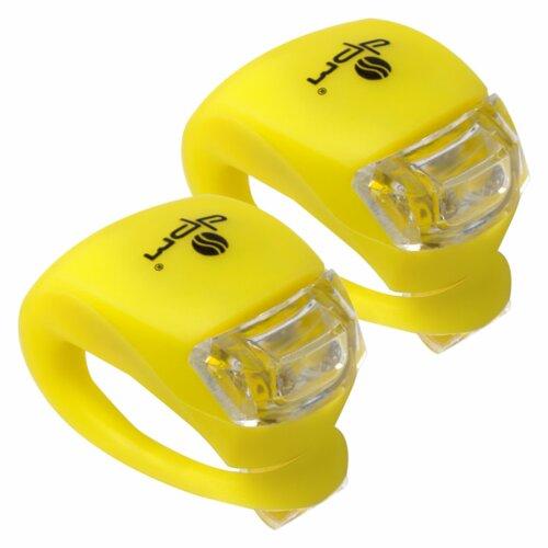 Zestaw lampek rowerowych DPM SP0501