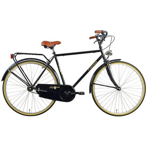 Rower miejski ESPERIA 2280 Retro 1B 28 cali męski Czarny