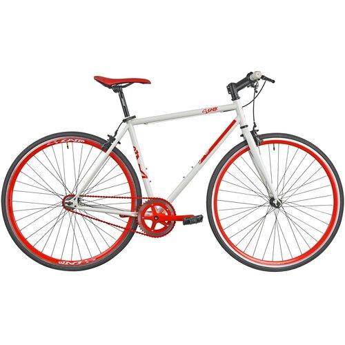 Rower szosowy ESPERIA Ostre Koło Scatto M19 28 cali męski Czerwony