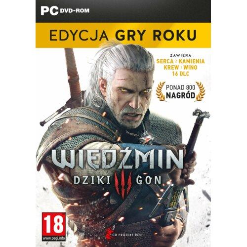 Wiedźmin 3: Dziki Gon - Edycja Gry Roku Gra PC