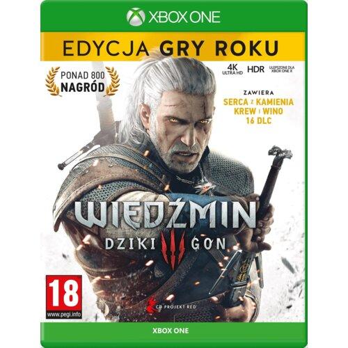 Wiedźmin 3: Dziki Gon - Edycja Gry Roku Gra XBOX ONE (Kompatybilna z Xbox Series X)