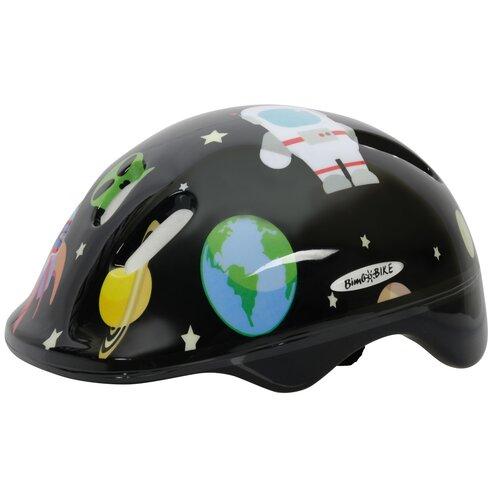 Kask rowerowy BOTTARI Cosmos Czarny dla dzieci (Rozmiar S)