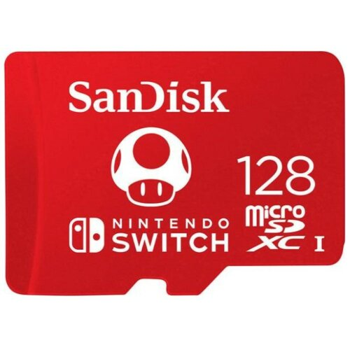 Karta pamięci SANDISK 128GB microSDXC do Nintendo Switch