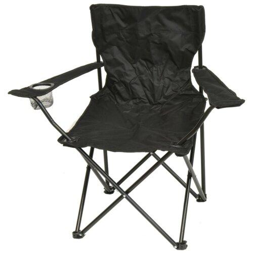 Krzesło turystyczne SASKA GARDEN Czarny
