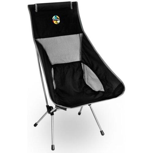 Krzesło turystyczne SPOKEY Airy Czarno-szary