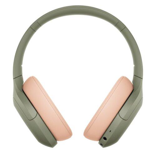 Słuchawki nauszne SONY WH-H910NG ANC Zielony