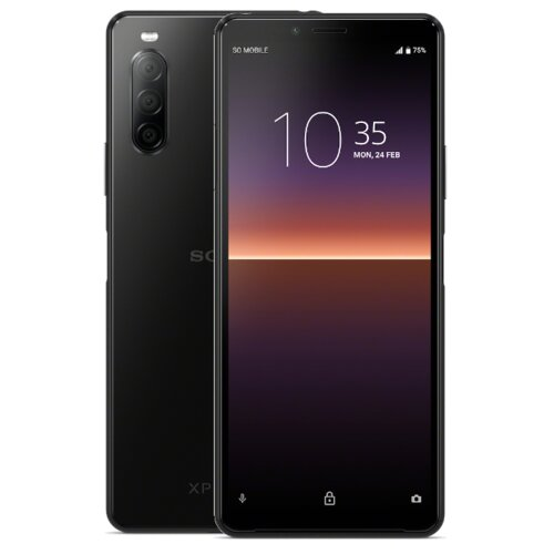 "Smartfon SONY Xperia 10 II 4/128GB 6"" Czarny XQAU52B.EEAC"