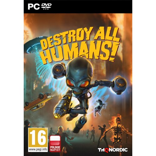 Destroy All Humans! Crypto-137 Edition Gra PC