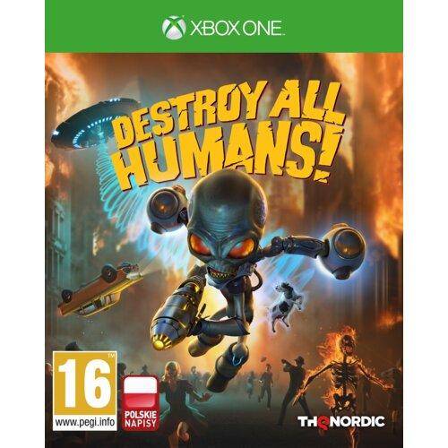 Destroy All Humans! Crypto-137 Edition Gra XBOX ONE (Kompatybilna z Xbox Series X)