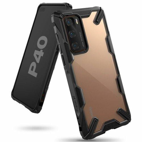 Etui RINGKE Fusion X do Huawei P40 Czarny