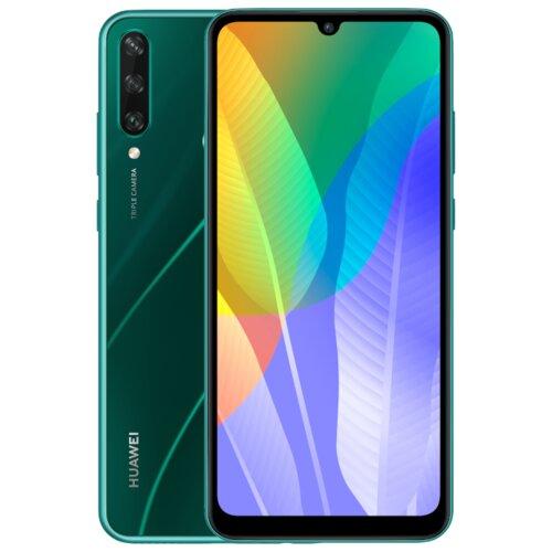 """Smartfon HUAWEI Y6P 3/64GB 6.3"""" Zielony 51095KYR"""