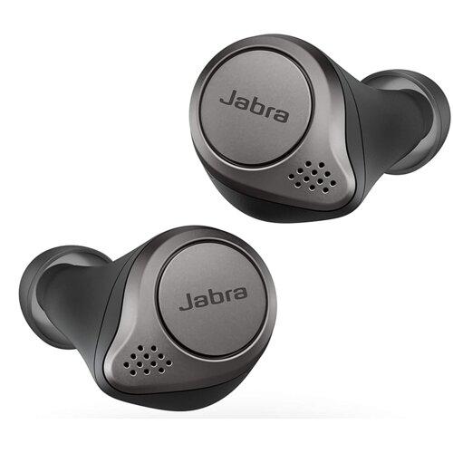 Słuchawki dokanałowe JABRA Elite Active 75t Tytanowo-czarny
