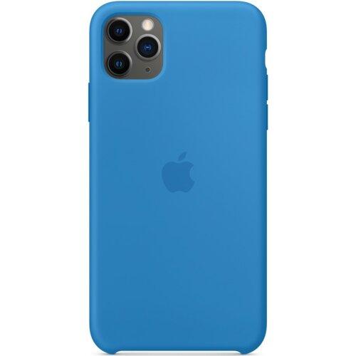 Etui APPLE Silicone Case do iPhone 11 Pro Max Błękitna fala